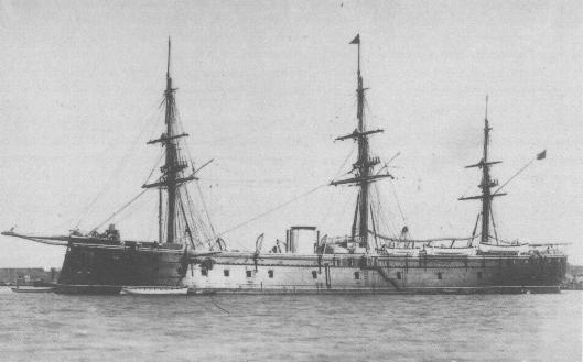 Fragata Acorazada Numancia